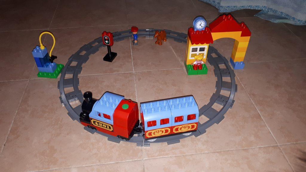 Lego Duplo - il mio primo treno