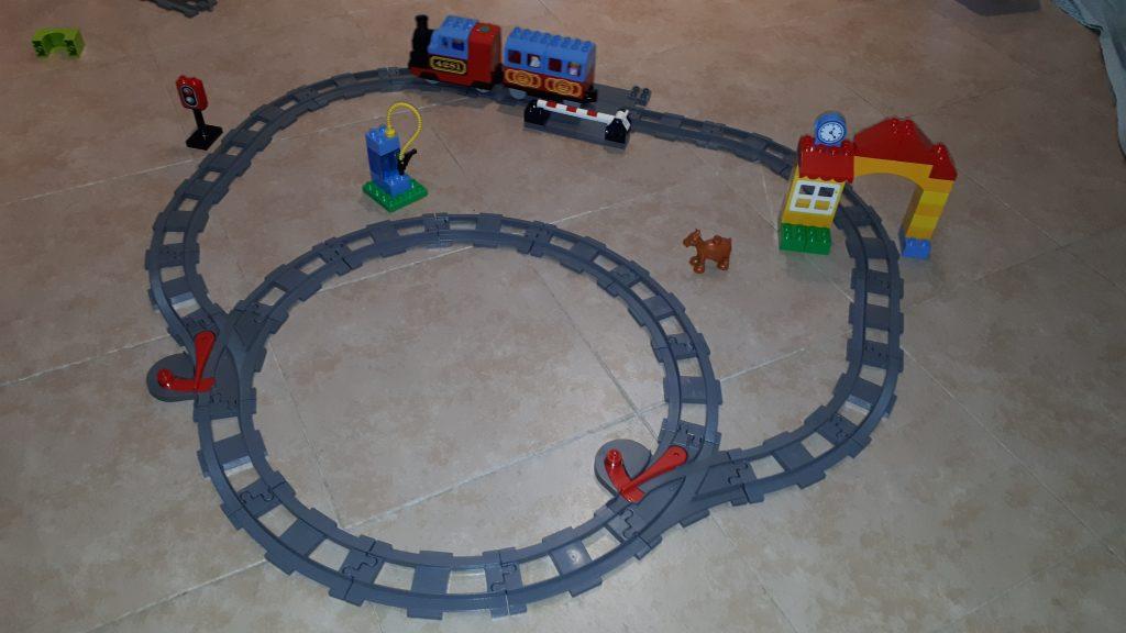 Il vecchio set di espansione applicato a  Lego Duplo - Il Mio Primo Treno 10507