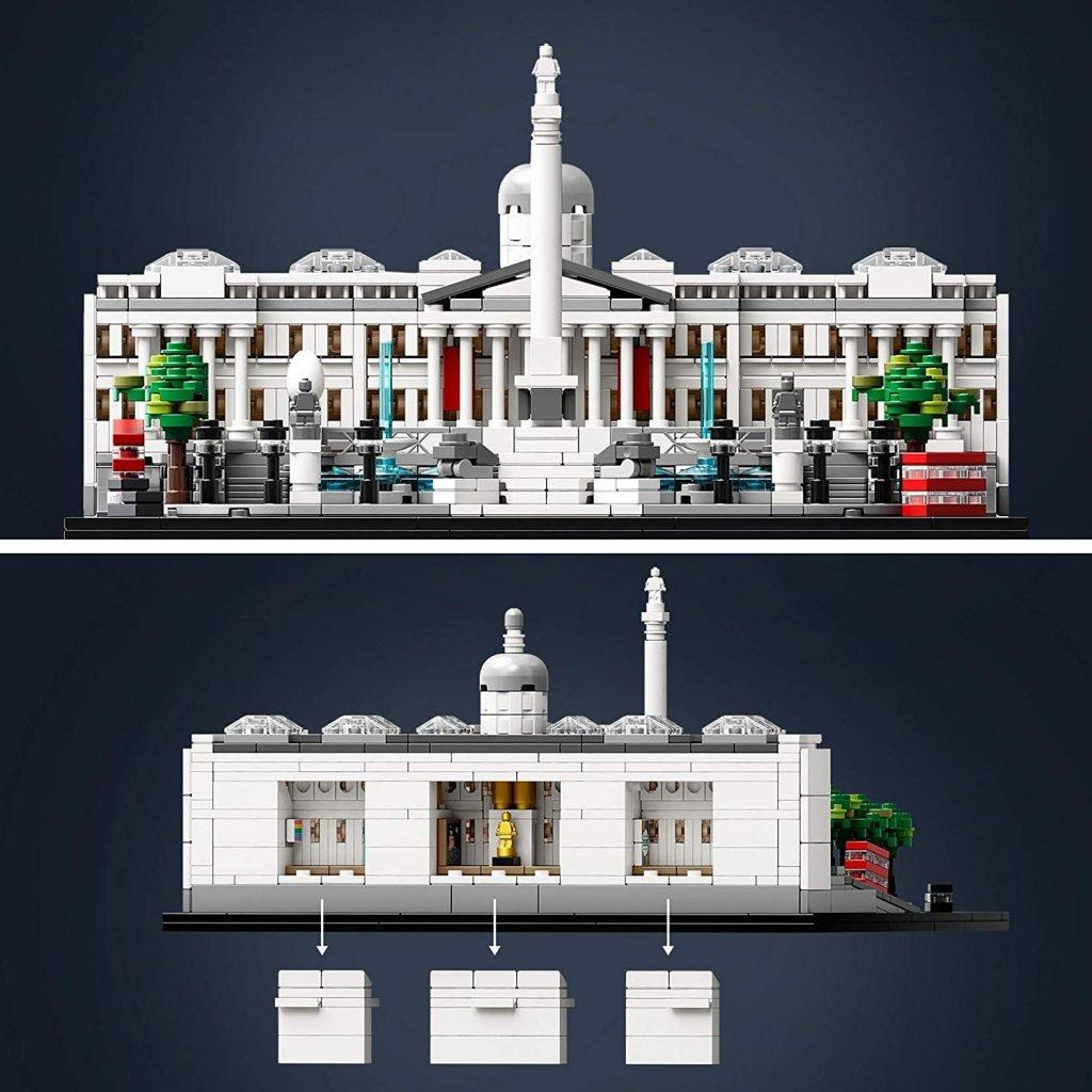Interni Lego Trafalgar Square