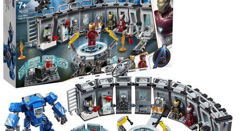 Lego Marvel Super Heroes – Sala delle Armature di Iron Man