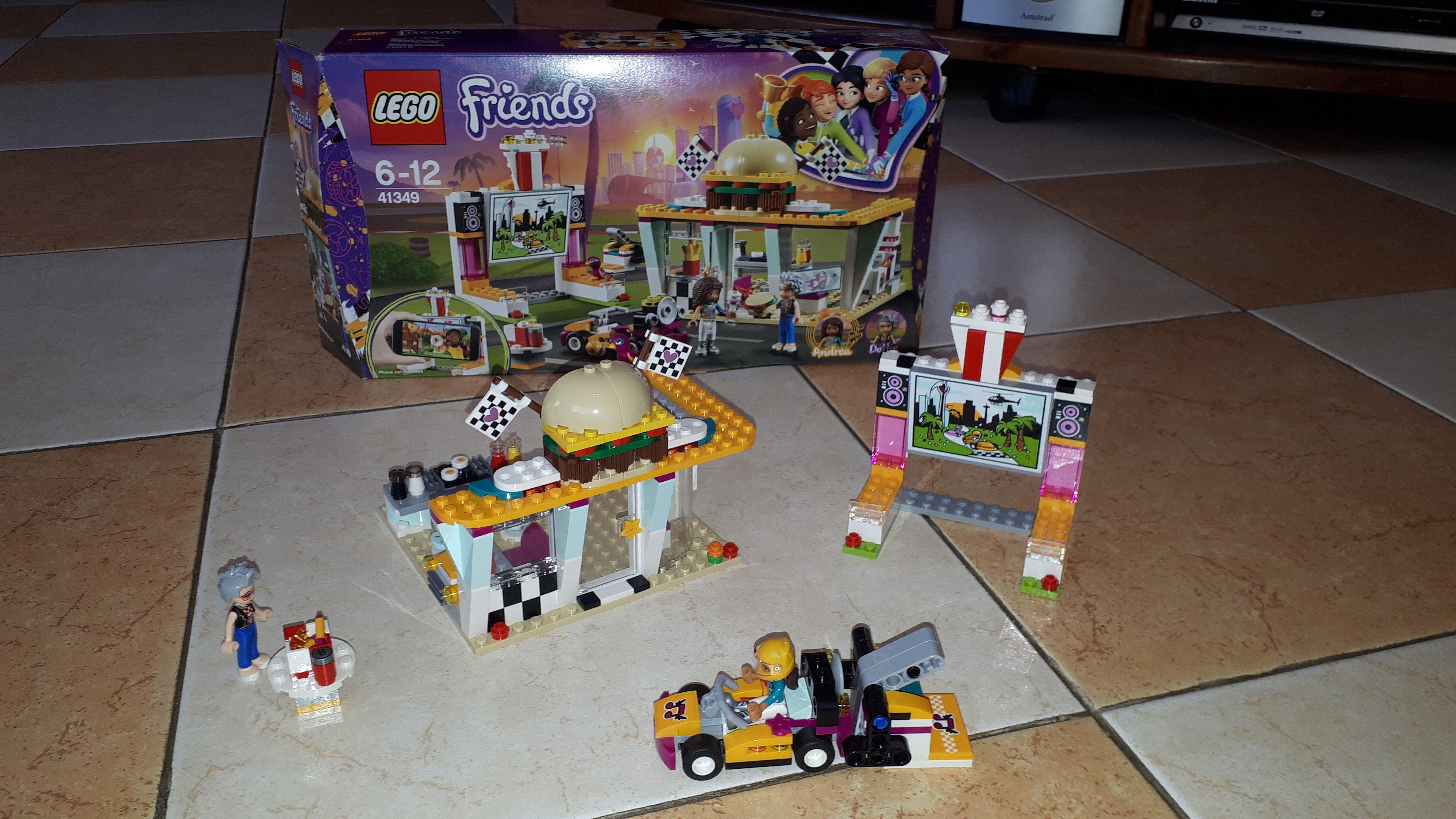 Lego Friends – Il fast food del go-kart