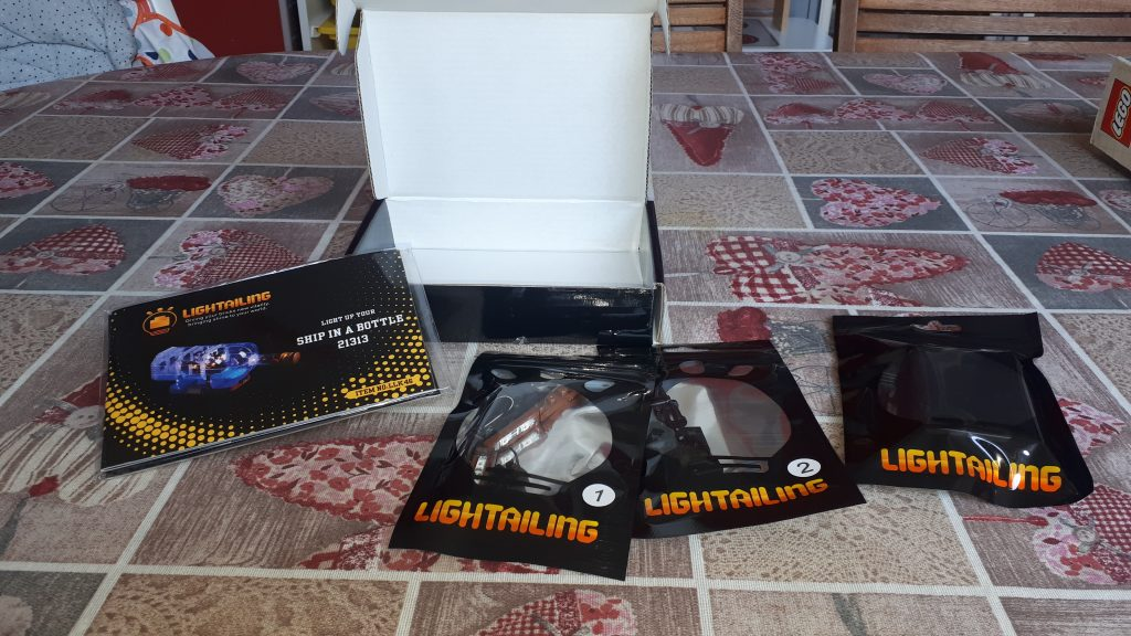 Lightailing kit illuminazione