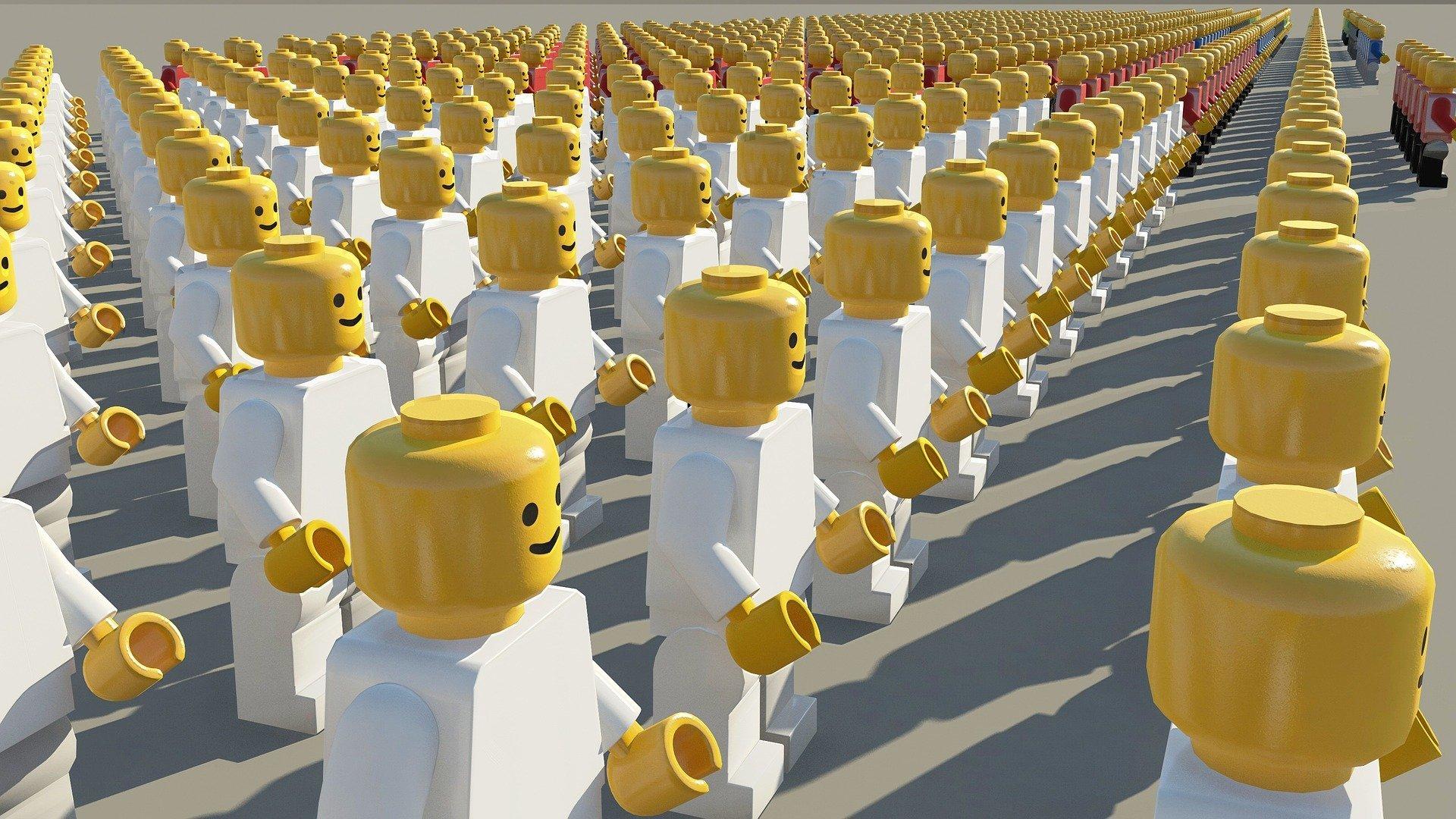 Come conservare le Lego Minifigures
