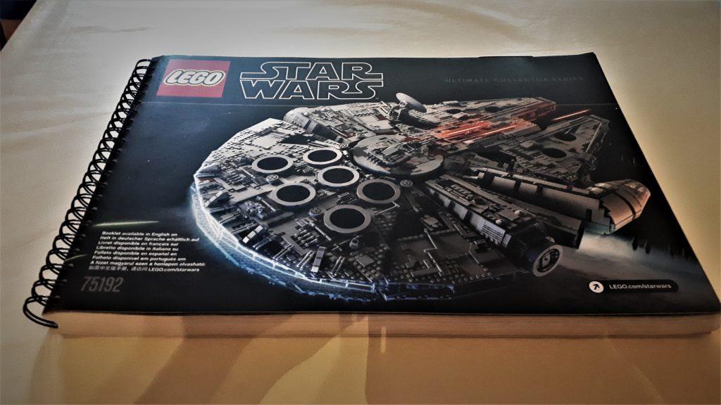Lego Star Wars Millennium Falcon UCS manuale di montaggio