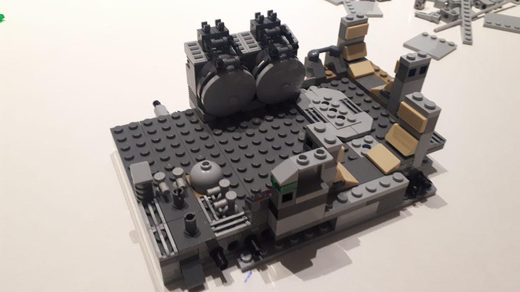 Il compartimento posteriore del Lego Star Wars Millennium Falcon UCS