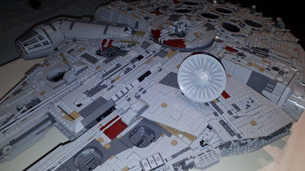 Il radar circolare del Millennium Falcon