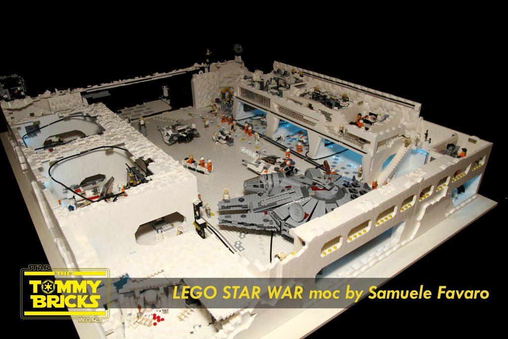 Diorama base Hoth Star Wars