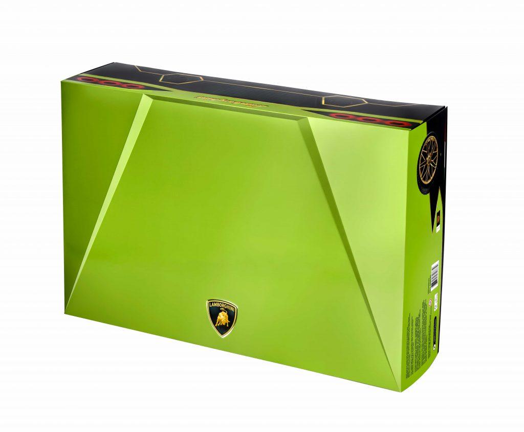 La scatola del set 42115