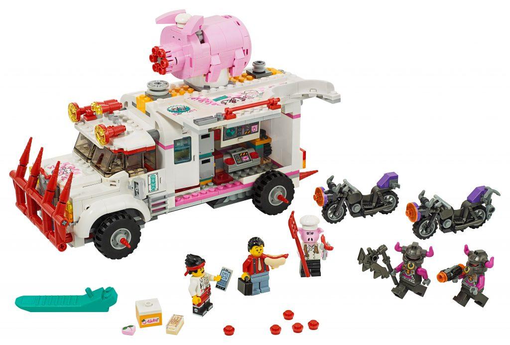 Il food truck di Pigsy