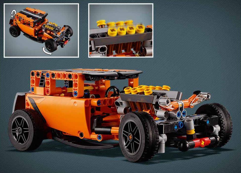 Lego Technic 42093 Hot Rod