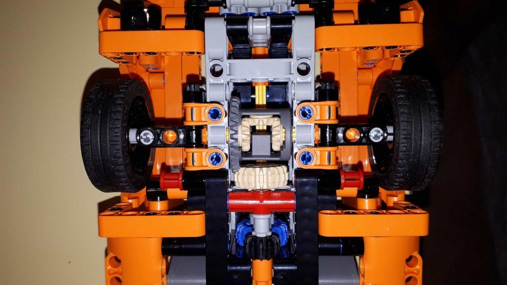 Lego Technic Chevrolet Corvette ZR1 - Differenziale