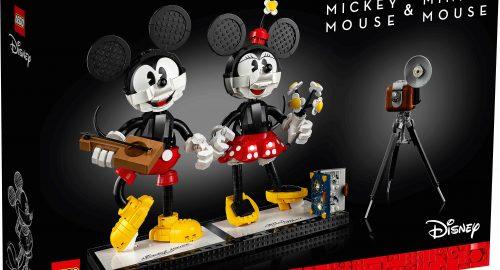 Annunciato il nuovo set: Lego Disney Mickey Mouse e Minnie Mouse!