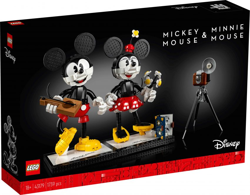Lego Disney Mickey Mouse e Minnie Mouse