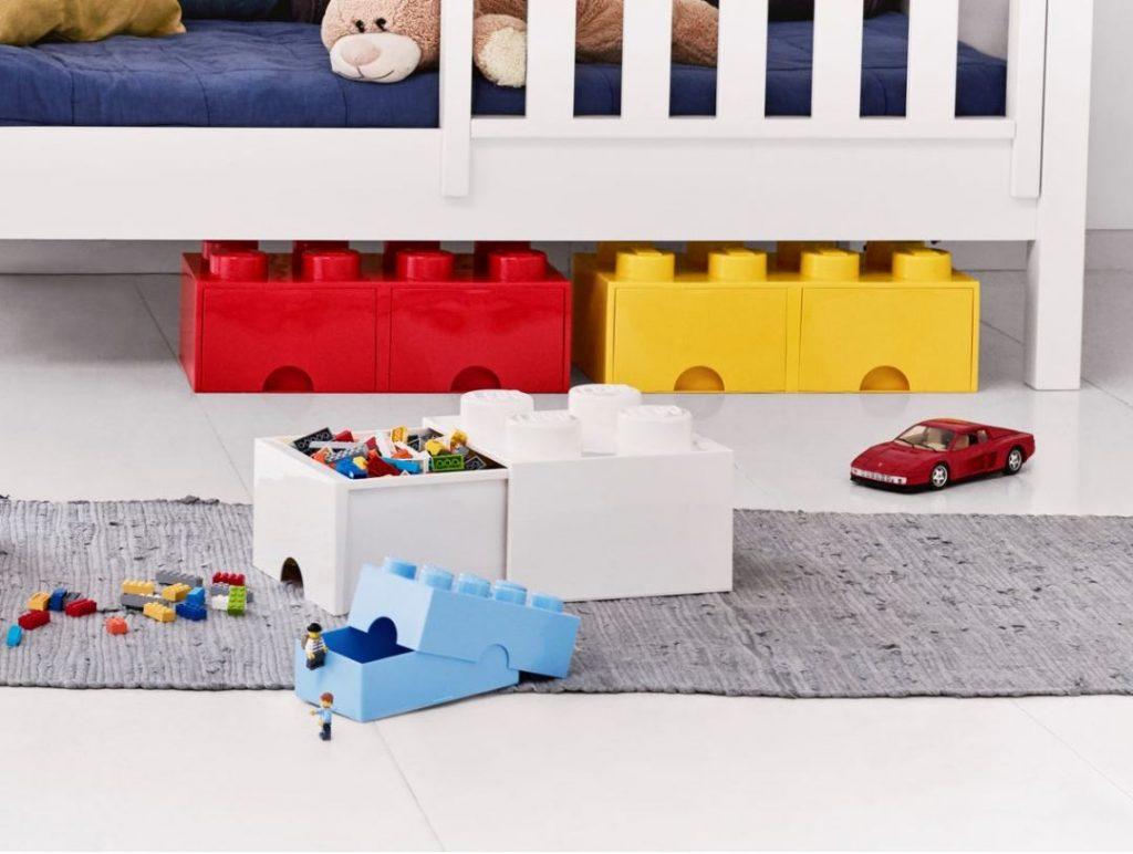 contenitori per conservare Lego sfusi