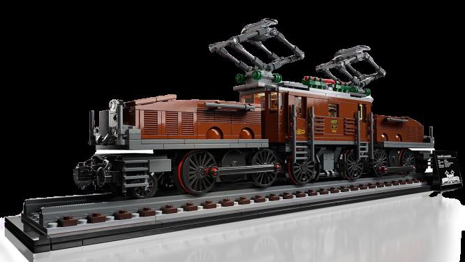 Lego Crocodile Locomotive 10277