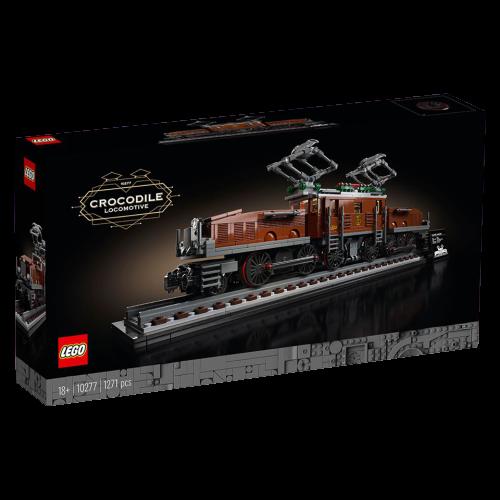 Scatola Lego Crocodile Locompotive 10277