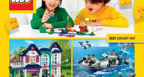 Catalogo Lego Gennaio/Giugno 2021: da oggi disponibile!