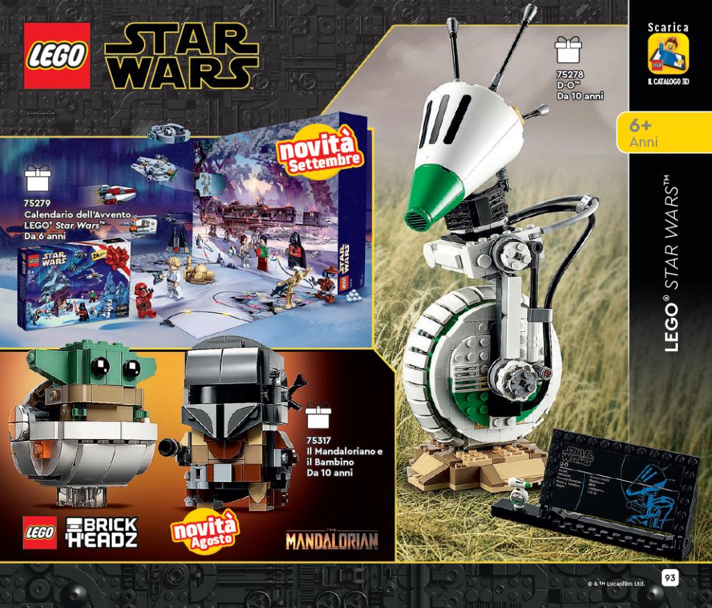 Catalogo Lego, estratto