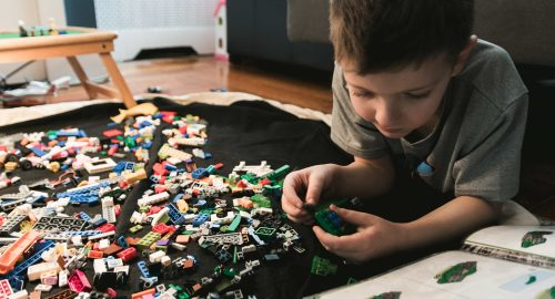 Come conservare i mattoncini Lego sfusi