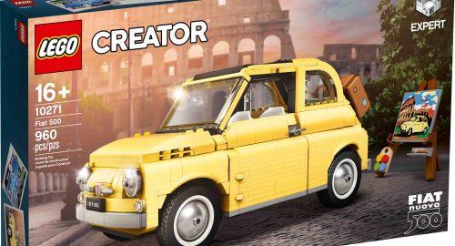 Lego Creator Fiat 500: la celebrazione di un'icona italiana senza tempo