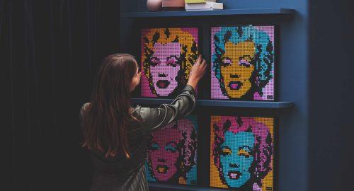 Lego Art: quando gioco e arte si fondono il risultato è spettacolare