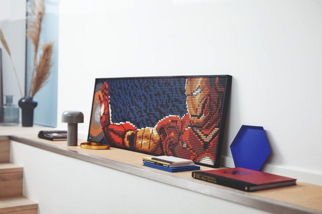 Lego Iron Man quadro grande