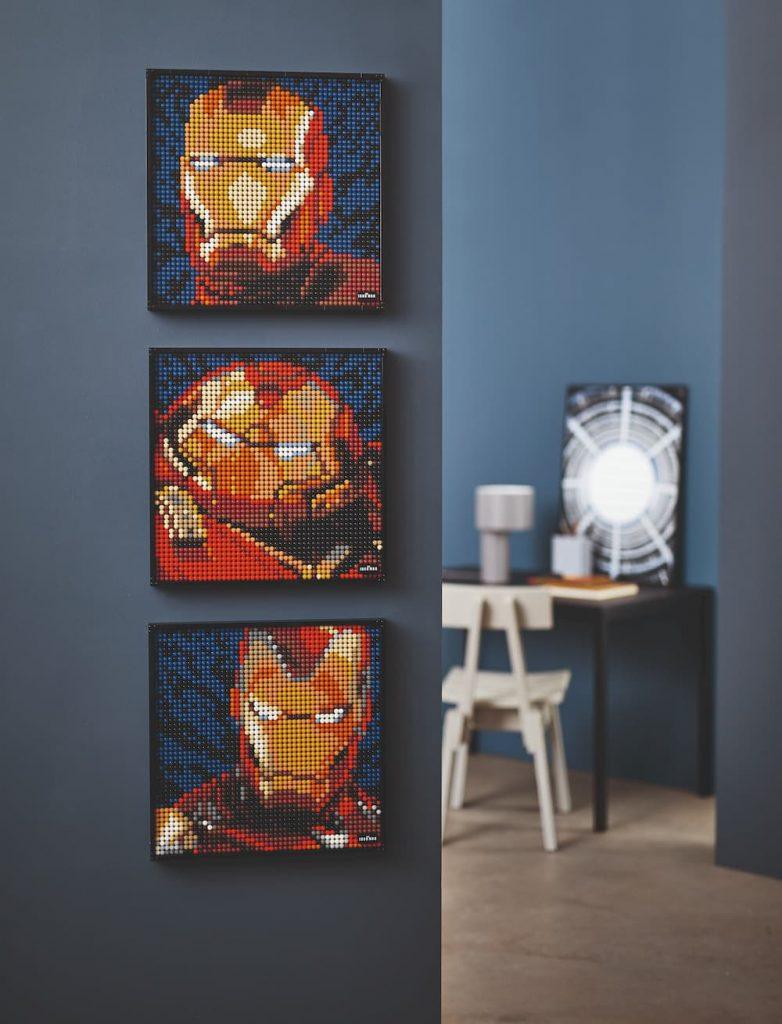 Lego Art Iron Man 3 quadri