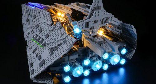 Abbellire i set Lego con i kit di illuminazione a led