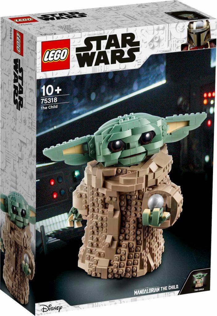 Lego Star Wars Baby Yoda box