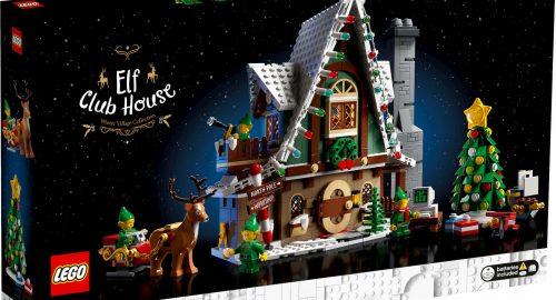 Nuovo set natalizio Lego Casa degli Elfi in uscita il 23 settembre 2020!