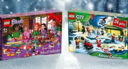 Disponibili i nuovi Calendari dell'Avvento Lego del 2020