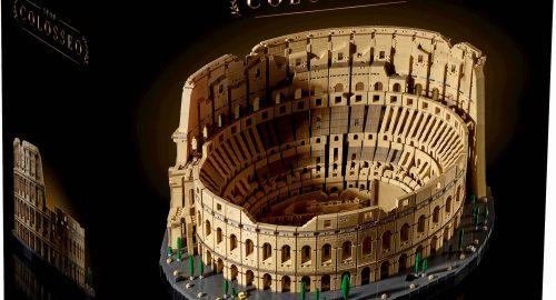Lego Colosseo: annunciato ufficialmente, in uscita il 27 Novembre!