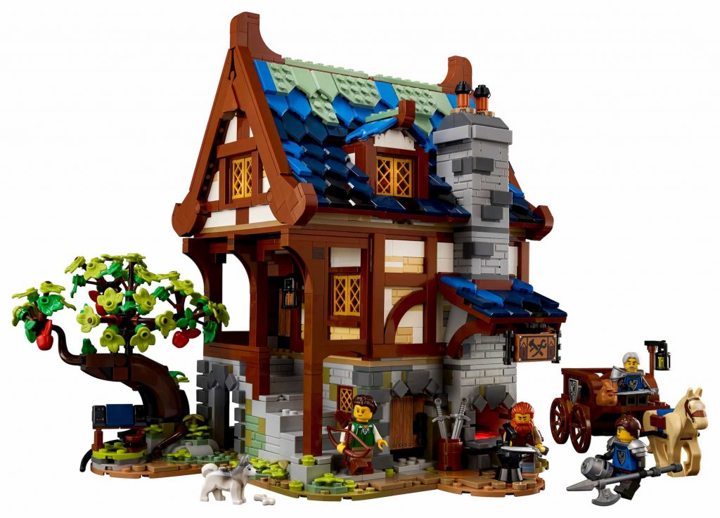 Lego Ideas Fabbro Medievale_fronte