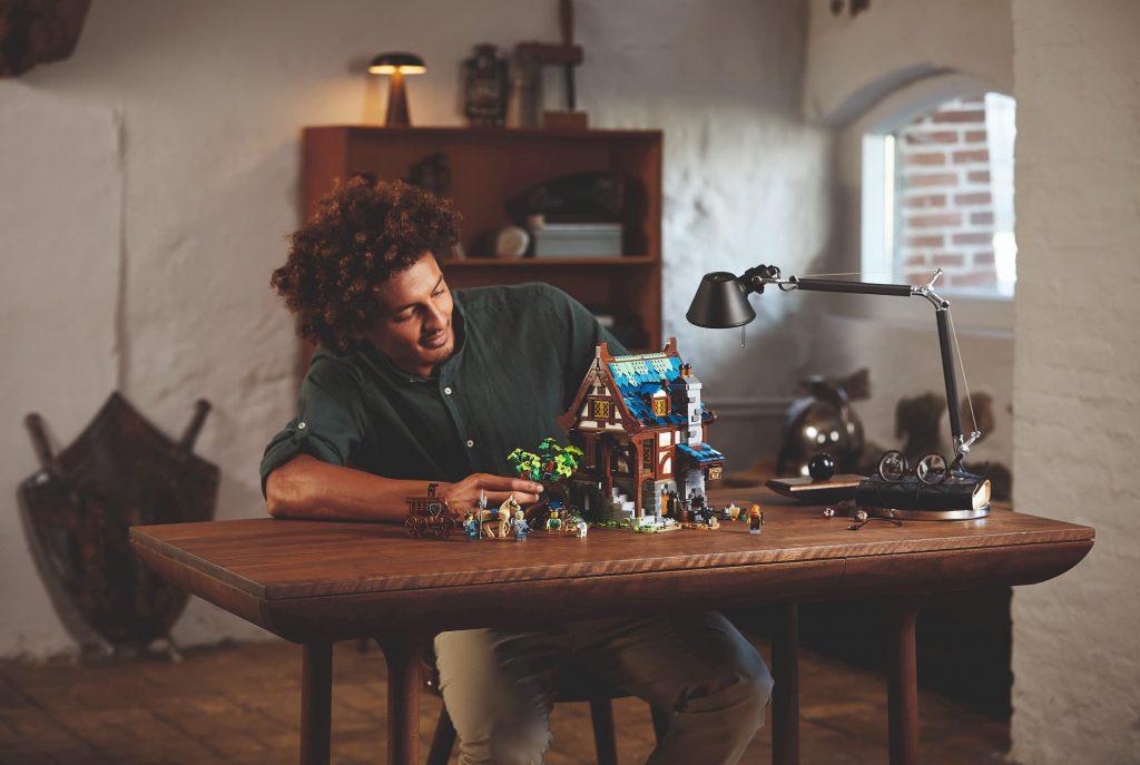 Lego Ideas Fabbro Medievale_realizzazione