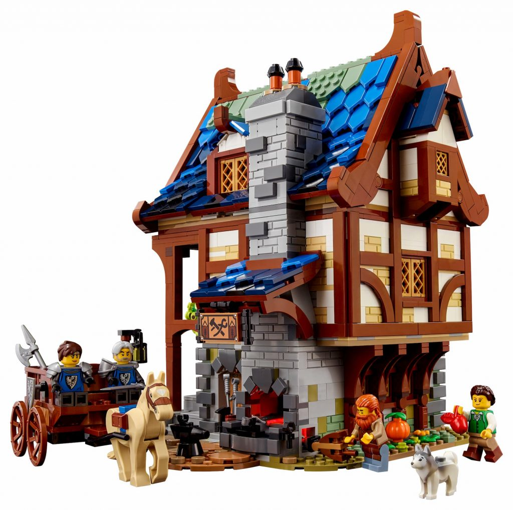 Lego Ideas Fabbro Medievale_retro
