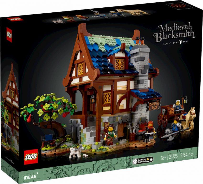 Lego Ideas Fabbro Medievale_scatola