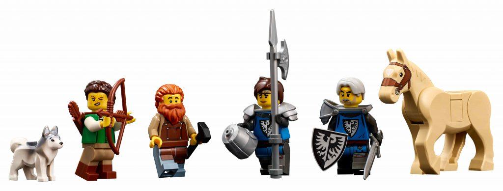 Minifigures lego ideas medieval blacksmith