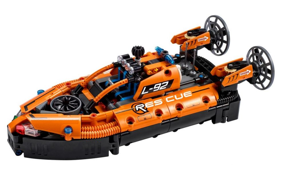 Hovercraft di salvataggio