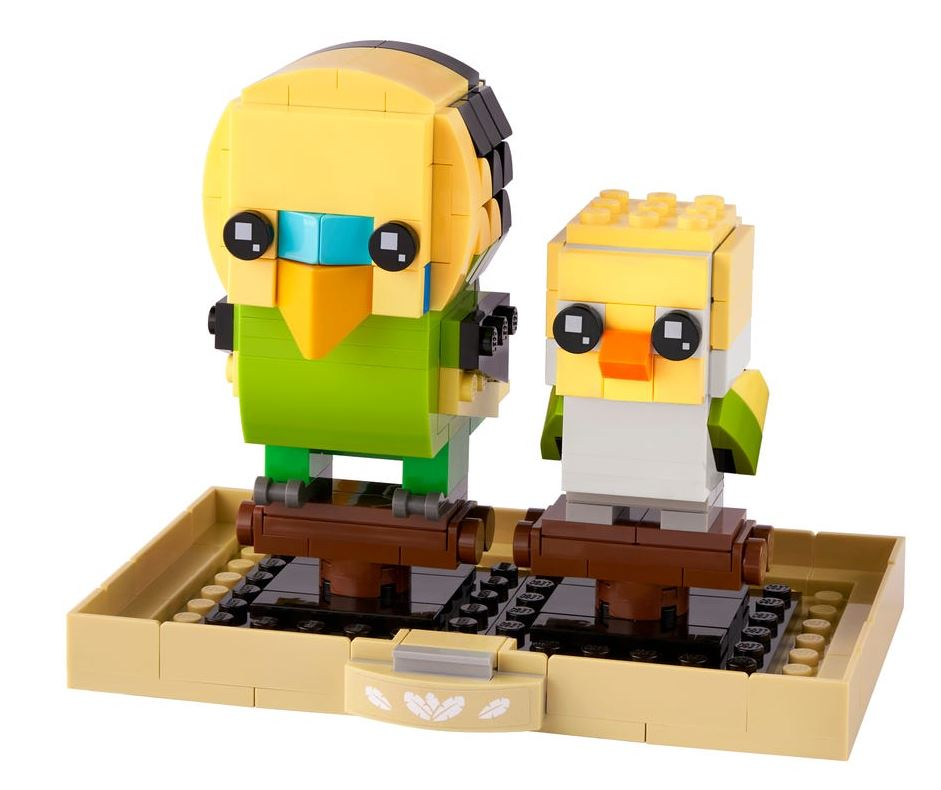Lego BrickHeadz Pappagallino