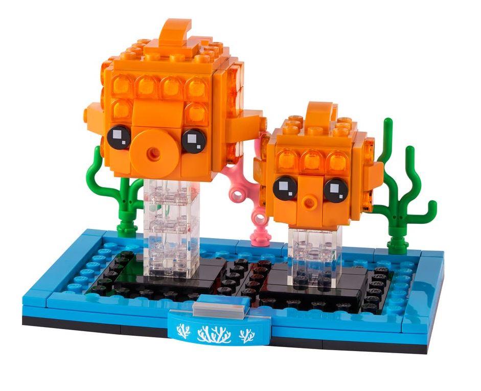 Lego BrickHeadz Pesciolino Rosso