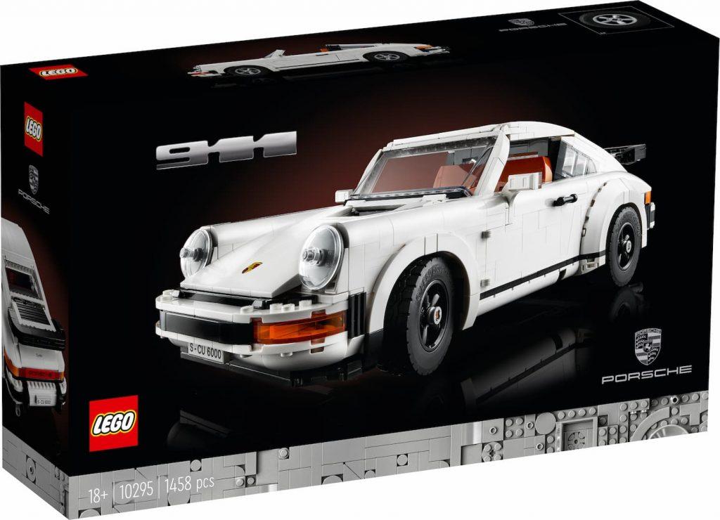 Lego Porsche 911 - scatola