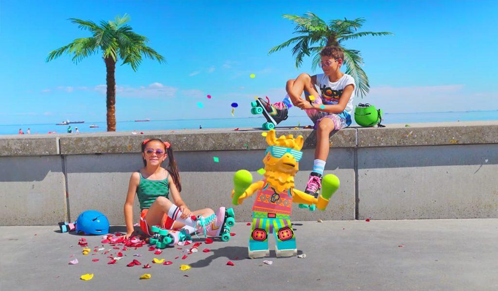 Lego Vidiyo in spiaggia