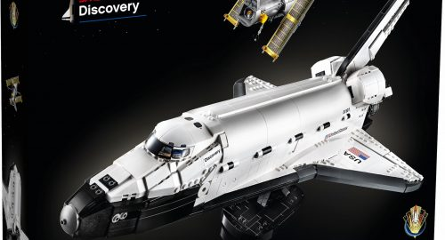 LEGO NASA Space Shuttle Discovery disponibile dal 1° Aprile!!