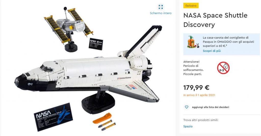 LEGO NASA Space Shuttle Discovery - Lego Shop