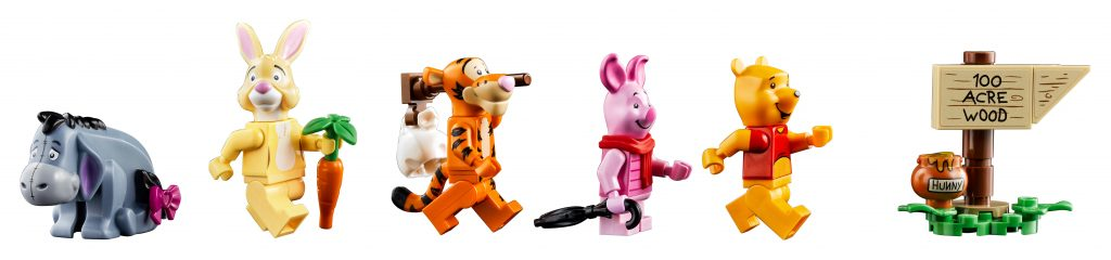 Le minifigure di Winnie The Pooh