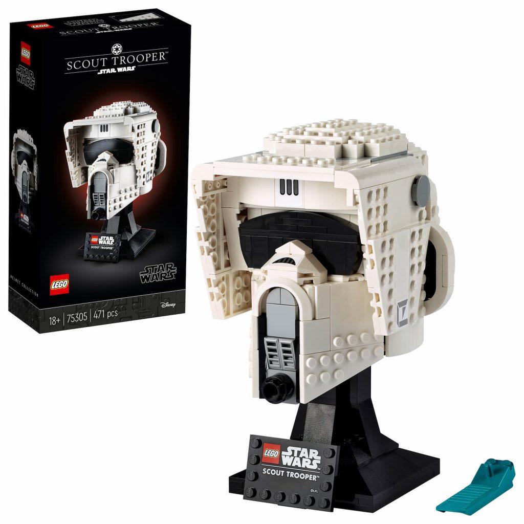 Lego Star Wars casco Scout Trooper