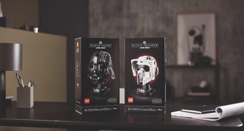 Nuovi caschi Lego Star Wars disponibili sul Lego shop!