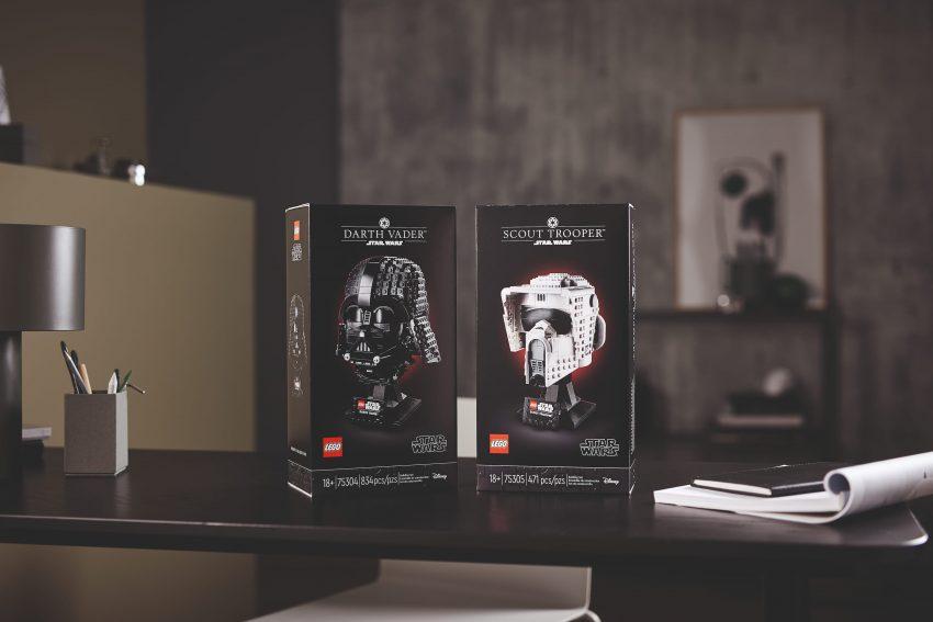 nuovi caschi Lego Star Wars