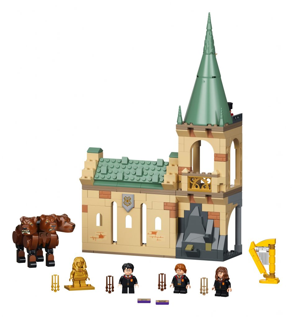 LEGO Harry Potter Hogwarts Incontro con Fuffi