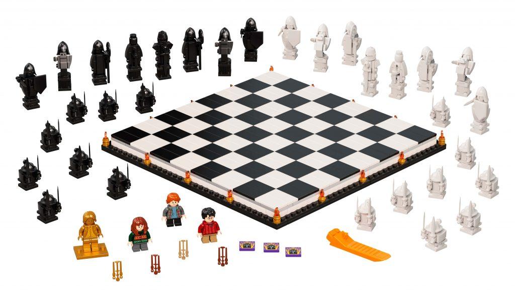 LEGO Harry Potter La scacchiera di Hogwarts